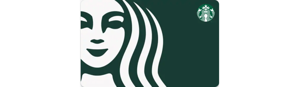 Enter to win one of 3 $25 Starbucks eGift Cards